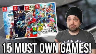 15 MUST OWN Nintendo Switch Games! | RGT 85