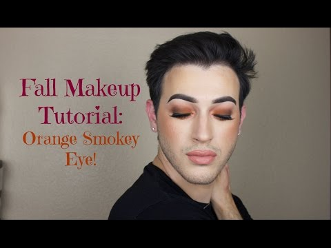 Makeup Buzz Tag Getreadyw Me Fall Makeup Tutorial Orange Smokey