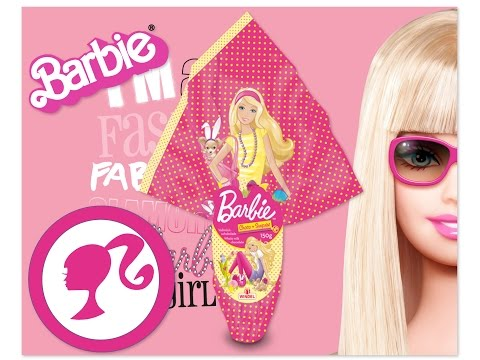 SUPER Barbie chocolate and surprise  СУПЕР Барби пасхальное яйцо с сюрпризом