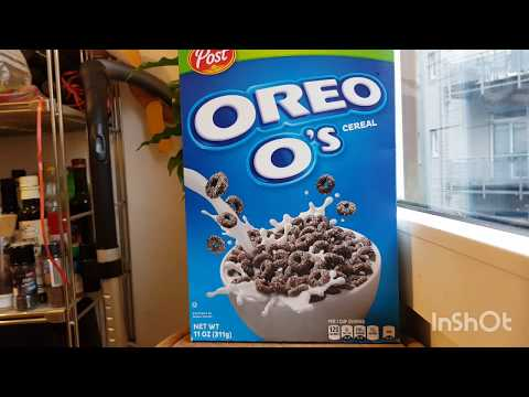 Post von Stefano: Oreo O's Cerealien