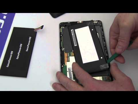 How To Replace Your Google Nexus 7 Battery