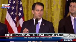 FULL EVENT: Foxconn Announces $10 Billion Factory in Wisconsin - 3000 New Jobs (FNN)