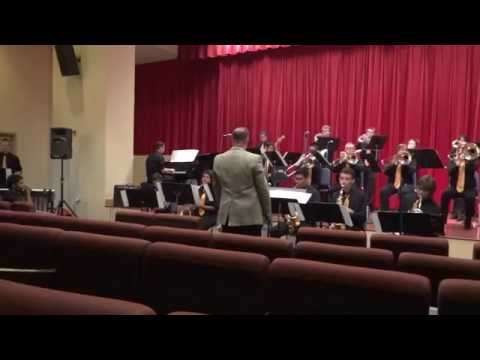 Yucca Valley High School Jazz Ensemble, Coconut Champagne, Riverside City College, May 10, 2014