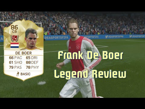 FIFA 16 - Frank De Boer - Legend Review