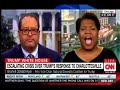 Heated fight Michael Eric Dyson and Brunell Donald Kyer Poppy Harlow treatened to cut them off