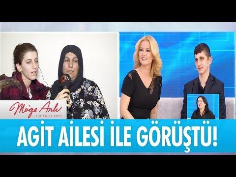 Agit, ailesi ile görüştü - Müge Anlı İle Tatlı Sert 17 Ocak 2018