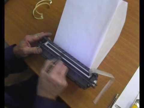 Полировка фотобарабана своими руками