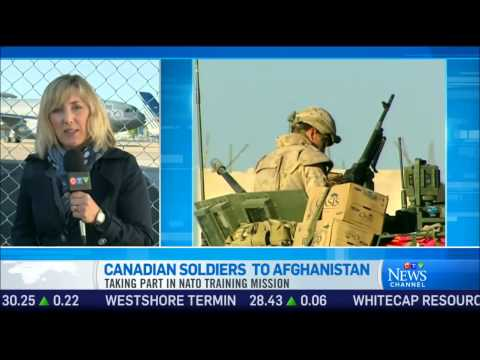 Canadian soldiers head to Afghanistan for training mission