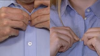 The Real Reason Why Mens' Shirt Buttons Are On The Opposite Side Of Womens'