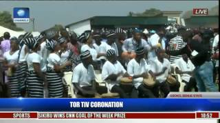 Coronation Ceremony Of New Tor Tiv In Gboko,Benue State Pt 3