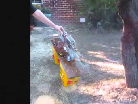 Spartan Laser Airsoft Spartan Laser Firing Test