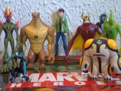 Review Bonecos Do Ben 10 Força Alienigena Keychains chaveiros Toy Review.