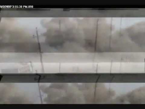 June 9, 2012 - Impact of a Missile in Southern Iraq.