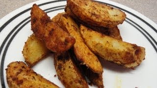 Easy Oven Fried Potatoes