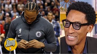 The Kawhi Leonard middle finger seems like a message to the Spurs - Scottie Pippen | The Jump