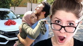 200TH VIDEO!! (SURPRISING SISTER WITH DREAM CAR!) - Zane Hijazi Reaction