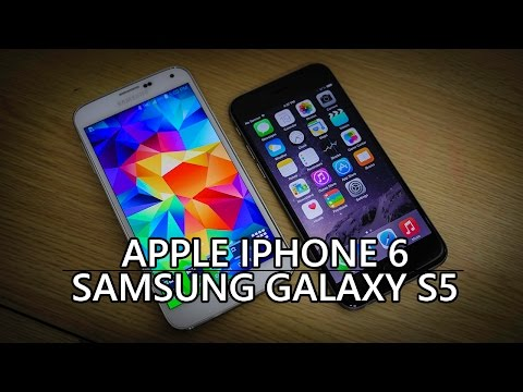 iPhone 6 vs Samsung Galaxy S5 – Quick Look!