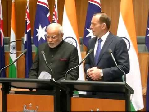 Joint Press remarks by PM Modi & Australian PM Tony Abbott
