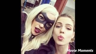 Arrow Cast Behind Scenes Funny Moments
