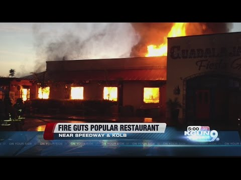 Fire destroys Guadalajara Fiesta Grill, cause still under investigation
