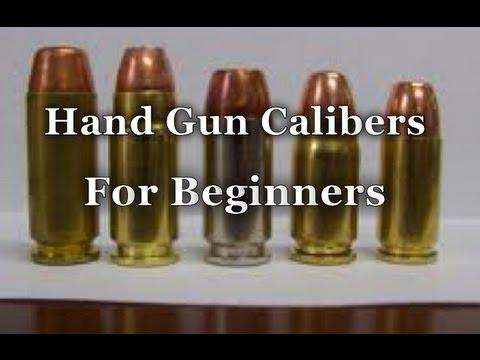 Survival Skills 101: Hand Gun Calibers For Beginners.