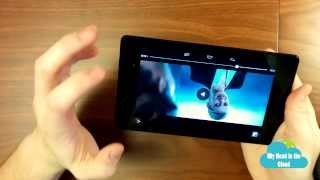 Nexus 7 (2013) Unboxing and Review (Ep: 2) My Head in the Cloud