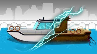 Good and Evil | Police Boat | Police Vehicle | Haunted Place
