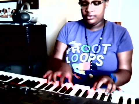 Piano Chasing After You Tye Tribbett(beginner).ment Plz!! video