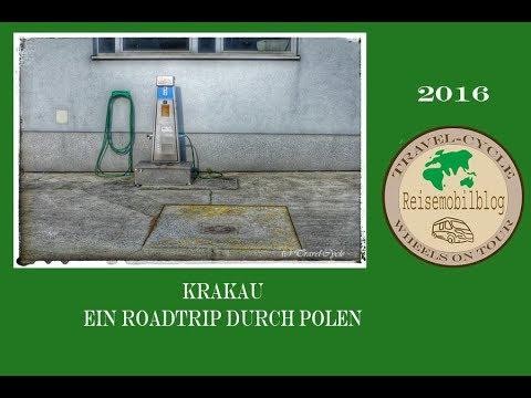 Stellplatzvideo über Krakau