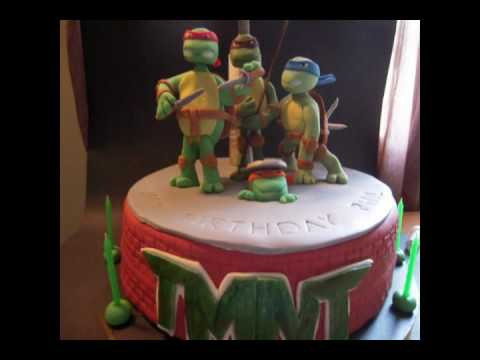 Teenage Mutant Ninja Turtle Cake.