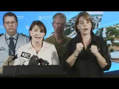 Bligh appeals to Queensland spirit