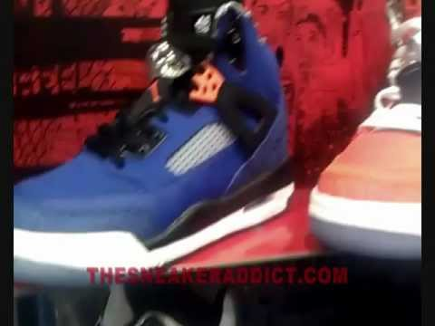 "Air Jordan New York Knicks Spiz""ike Spike Lee Blue Or Orange Sneaker W/ @DjDelz #PickOne"