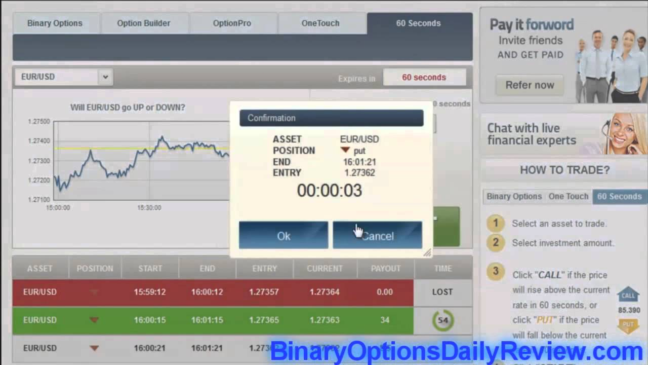 Binary options video tutorial