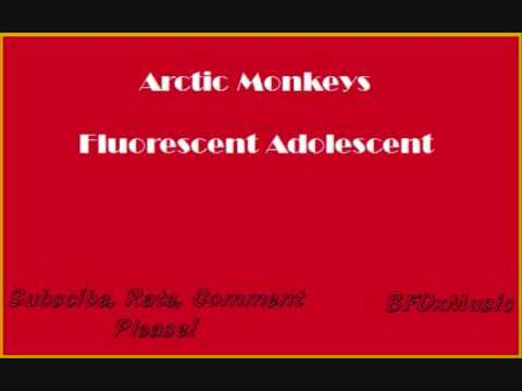 Arctic Monkeys - Fluorescent Adolescent - WITH LYRICS !