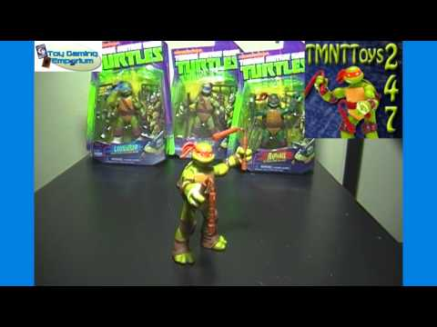 New Teenage Mutant Ninja Turtles Toy Channel TMNTToys247