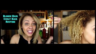 Best hair care routine for Damaged hair | Blonde hair | Curly hair care!!!!!!