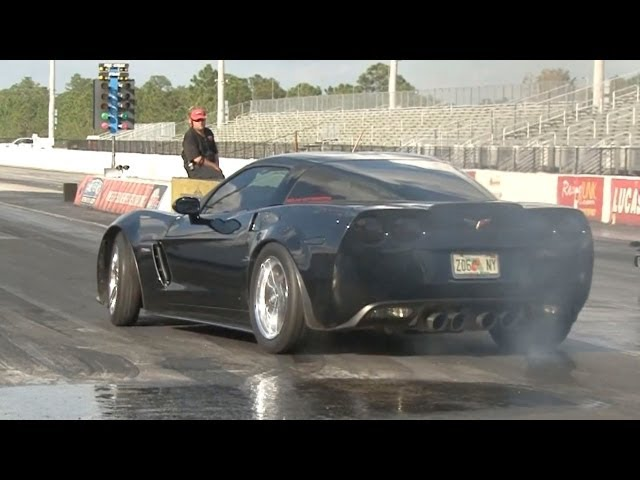 Chevrolet Corvette Z06 Burnout