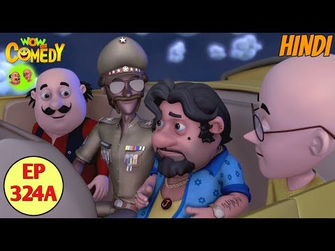 Motu Patlu | Cartoon in Hindi | 3D Animated Cartoon Series for Kids | John Ke Bhoot thumbnail