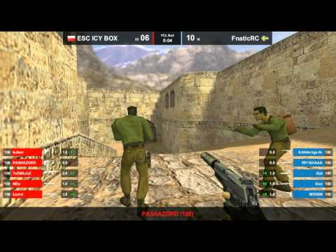 CS 1.6 FCL - fnatic vs. ESC @ dust2