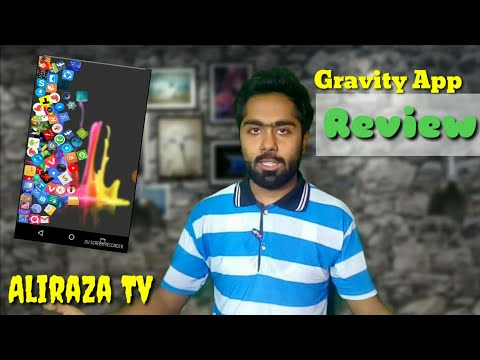 Make your icon fall by gravity | Gravity app for Android | Gravity on smart phone by Aliraza Tv