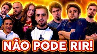 NÃO PODE RIR! com BARBIXAS - pela quarta vez! Anderson Bizzocchi, Daniel Nascimento e Elidio Sanna