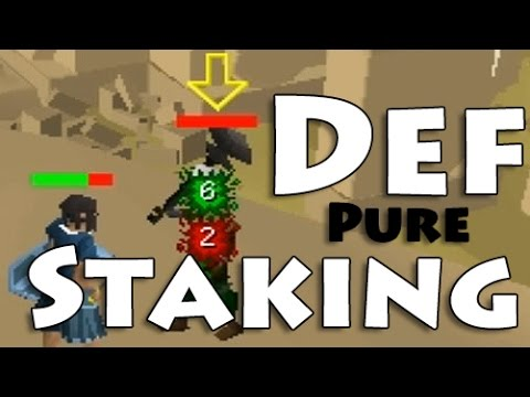 Defence Pure Staking – OldSchool Runescape Low-Level Tank