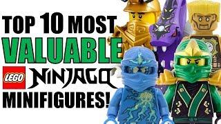 Top 10 MOST VALUABLE LEGO NINJAGO Minifigures!