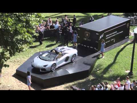 2013 Lamborghini Aventador Roadster LP 700-4 First Reveal Commercial Carjam TV Car TV Show