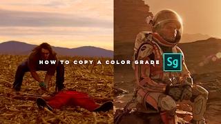 Copy A Color Grade INSTANTLY (Adobe Speedgrade Tutorial)