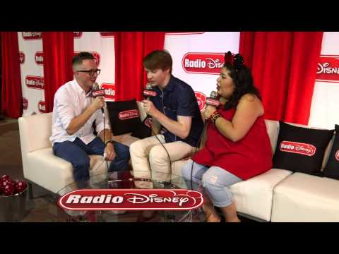Cast of Austin & Ally at D23 Expo 2015 | Radio Disney