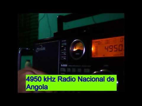 4950 kHz Radio Nacional de Angola