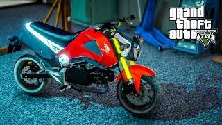 PojzPlaza - MSX125 ราชาสายแว๊น GTAV (Honda MSX 125 mod)