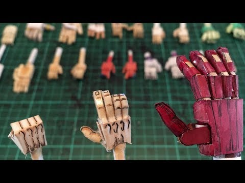 HANDS Tutorial - How To Make A Paper Model Ep. 2