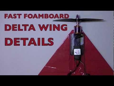 FAST FOAMBOARD DELTA WING - Details